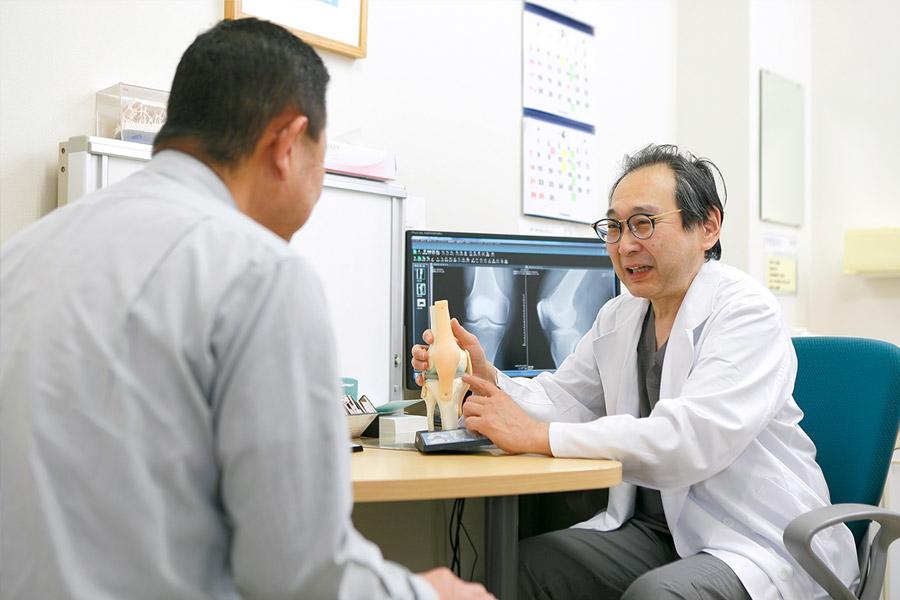 専門医による幅広い治療